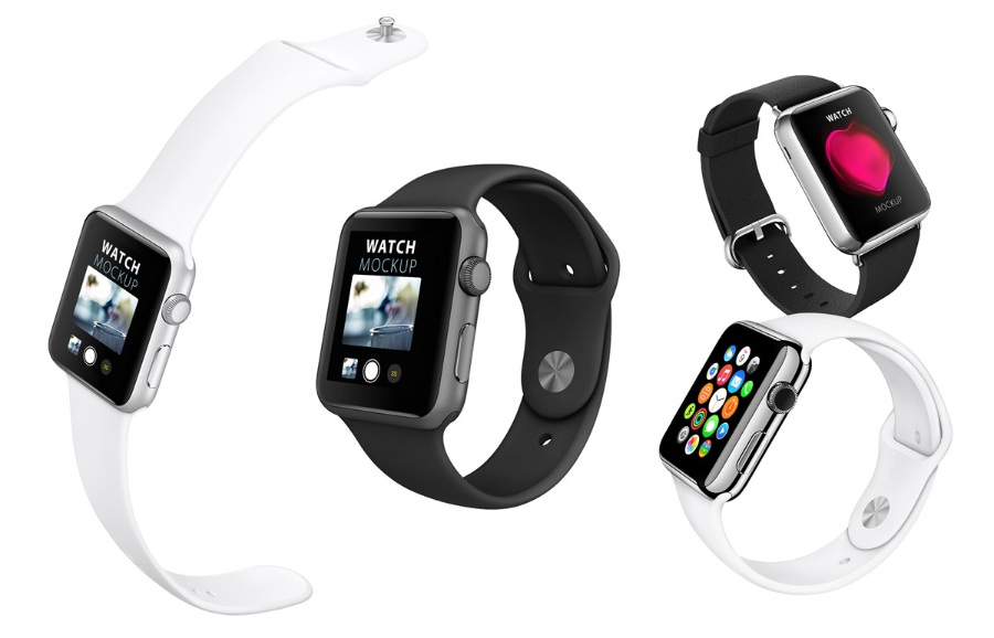 Apple Watch手表ps样机