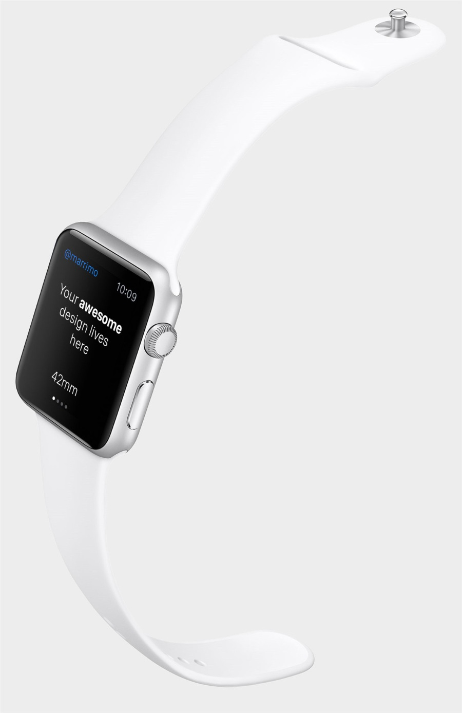 Apple Watch手表模型psd样机